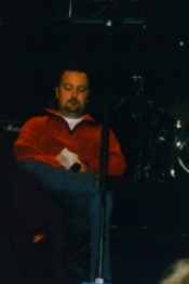 Greg Brooks at the 2001 Dutch fan club convention